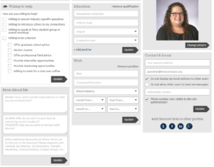 Terry Connect Student Profile Bottom