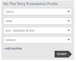 Terry Foundation Fields