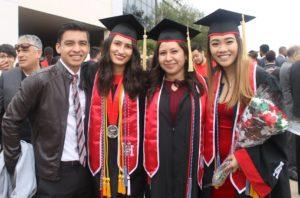 Terry Scholars in graduation gear