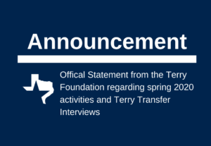 image with announcement header